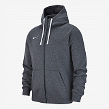 NIKE Жакет детский FZ FLEECE TEAM CLUB 19, grey