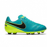 NIKE Бутсы TIEMPO LEGEND VI FG, turquoise, yellow, black