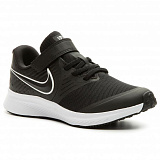NIKE Кроссовки детские BOYS STAR RUNNER, black, white