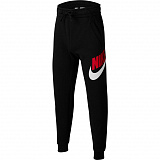 NIKE Брюки детские SPORTSWEAR CLUB FLEECE, black, white, red