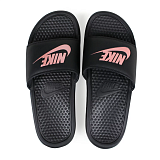 NIKE Сланцы женские BENASSI JUST DO IT SANDAL, black, pink