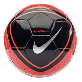 NIKE Мяч футбольный PHANTOM VISION FOOBALL, red, black