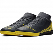 NIKE Бутсы зальные SUPERFLYX 6 ACADEMY IC, gray, yellow