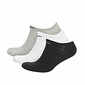 NIKE Носки EVERYDAY LIGHTWEIGHT NO-SHOW, 3 пары, white, grey, black