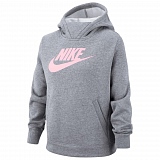 NIKE Жакет детский GIRLS NSW PE PULLOVER, grey