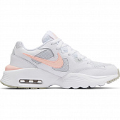 NIKE Кроссовки женские WMNS AIR MAX FUSION, white, orange