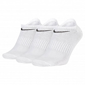 NIKE Носки EVERYDAY LIGHTWEIGHT NO-SHOW, 3 пары, white