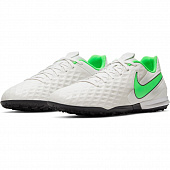 NIKE Бутсы мужские TIEMPO LEGEND 8 ACADEMY IC, white, green