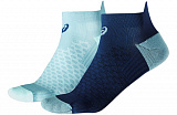 ASICS Носки Lot 2 Pairs Femme Chaussettes Running Rose, blue, dark blue