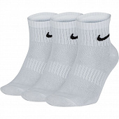 NIKE Носки EVERYDAY LIGHTWEIGHT ANKLE (3 пары), white